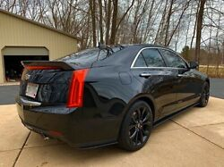 Cadillac ATS 24 Door Side Skirt Extensions And Rear Bumper Extension Splitters $154.99