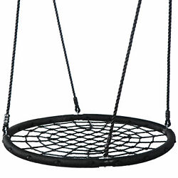 Tree Swing Platform Spider Web Hanging Straps Net Kit Kids Swing Holds 600Lbs $54.99