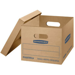 Bankers Box SmoothMove Classic Moving Boxes 15quot; x 12quot; x 10quot; Kraft Pack Of 5 $19.69