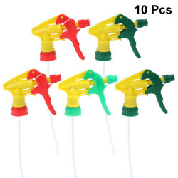 10 Pcs Long Straw DIY Sprayer Trigger Replacement for Balcony Home $12.08