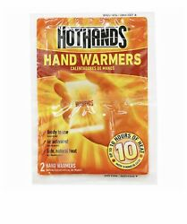 22 Pairs HotHands Hand Warmers Safe Natural Odorless Pocket Heat 44 Pads    $24.99