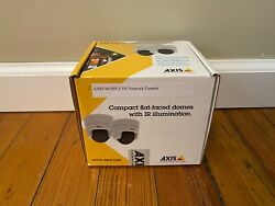 Axis M3105-LVE Indoor/Outdoor Network Security Camera White Open Box Never Used $150.00