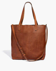 Madewell Medium Transport Tote ( english saddle) brand new with tags! $71.00