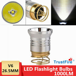 TrustFire Ultra Bright LED Upgrade Bulb Drop In Replacement Fit Surefire 6P USA $11.89