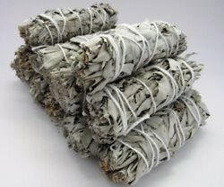 10X Cali White Organic Sage Smudge 4''-5'' Wands House Cleansing Negativity  $19.99
