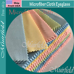 Universal Wipes Microfiber Cloth Eyeglass Sunglasses Cleaner Cleaning US seller $4.49