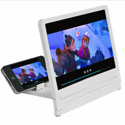 Folding Enlarged 3D Magnifier Screen Portable HD Amplifier For Mobile Phone Fine $3.28