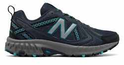 New Balance Women#x27;s 410v5 Trail Shoes Grey with Blue $30.23