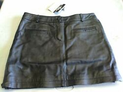 Crystal Side Skirt with Pockets USA Bikers Dream Apparel Size 8 Leather. 9A $19.99