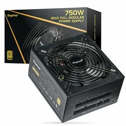 NEW 750W 650W Gaming Power Supply GP Series 80 Plus Gold Certified Fully Modular $85.90