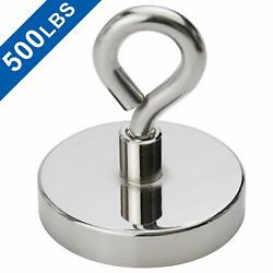 Super Strong Neodymium Fishing Magnets 500 lbs Pulling Force Rare Earth Magnet $14.56