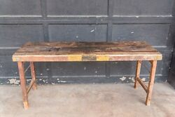 Vintage Indian Folding Coffee Table Wood Rustic Living Room Table $575.00