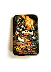 VINTAGE DUCKTALES THE MOVIE TREASURE OF THE LOST LAMP PROMO PIN - DISNEY BUTTON $4.00