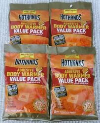 Hothands Hot Hands Adhesive Body Warmer Value Pack Lot of 32 $29.88