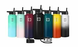 Iron Flask - 22 Oz to 64 Oz Vacuum Insulated Stainless Steel Water Bottle sport $14.90