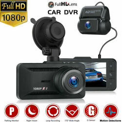 TOGUARD Dash Cam Front and Rear Dual Lens Car Camera Both 1080P Video Recorder S $63.88