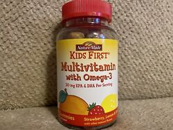 Nature Made Kids First Multi W Omega 3Gummies Strawberry Lemon amp; Orange 70Ct $22.99