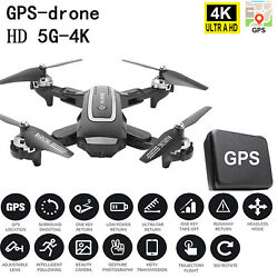 GPS Positioning WIFI FPV 2.4G 1080P 5G 4K HD RC Foldable Quadcopter Camera Drone $83.64