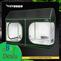 VIVOSUN Indoor Grow Tent Roof Cube Tent with Floor Tray for Plant Non Toxic $189.99