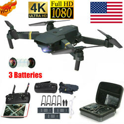 Drone X Pro WIFI FPV HD 1080P Camera Foldable Selfie RC wit 3Battery Quadcopter! $41.39