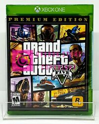 Grand Theft Auto V Premium Edition GTA 5 Xbox One Brand New Factory Sealed $24.99