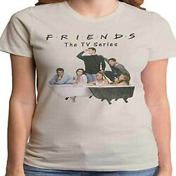 FRIENDS TV Show Bathtub Party Juniors Fit Women#x27;s T SHIRT NEW S M L XL official $13.48
