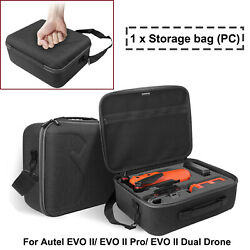 For Autel EVO II Pro Dual Drone Case Storage Bag Travel Carrying Case Suitcase*1 $50.30