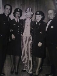 African American Female photo with Uncle Sam of the Philadelphia police Dept $100.00