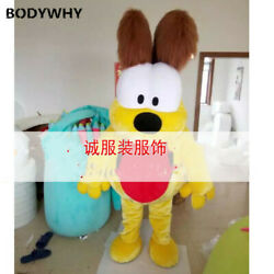 2020 Yellow dog goofy Mascot Costume Suits Cosplay Party Game Dress Outfits Ad $199.98