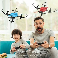 Holy Stone HS177 RC Battle Drones with Infrared Emission Quadcopter 6 Axis 2PCS $49.99