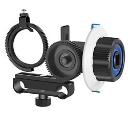 Follow Focus with Gear Ring Belt for Canon Nikon Sony DSLR $25.99