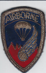 Original KW Vintage US Army 187th Airborne RCT Patch - Bullion Theater-made $77.00