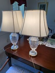 waterford crystal Lamps $720.00