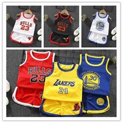Kids Baby Boys Outfits Clothes Toddler Boy Summer Clothing T shirtShorts Sets $9.96