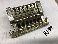 Kahler 2200 Tremolo Bridge Vibrato Stud Mount Gold Brass $170.00