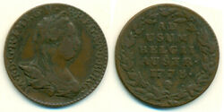 1778 Austrian Netherlands Maria Theresa 2 Liards Coin $34.99