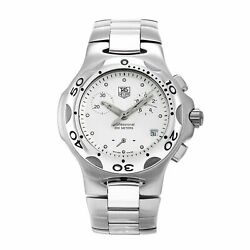 Tag Heuer CL1210.BA0705 Kirium 36MM Men's Chronograph Stainless Steel Watch