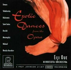 EIJI OUE  - EXOTIC DANCES FROM THE OPERA  NEW VINYL RECORD  $59.99