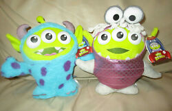 DISNEY PIXAR ALIEN REMIX PLUSH MONSTERS INC BOO AND SULLY 8