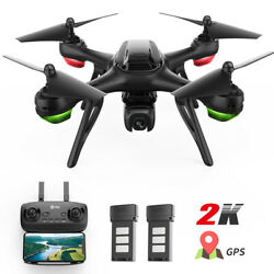 Holy Stone HS130D GPS 2K Drone HD Wifi Camera FPV Quadcopter 2 Battery Follow Me $129.99