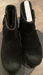 Ugg With Classic Mini Zip Waterproof Boots Womens Size 9 $95.00