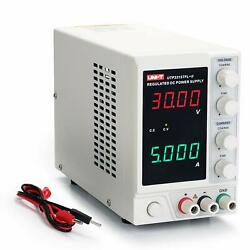 UNI T 30V 5A Linear Power Supply UTP3315TFL II Regulated Bench 4 Digital LED $74.99