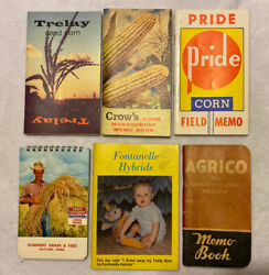 Vintage Seed Corn Books Crows Trelay Agrico Pride Fontanelle Sommers Grain amp; Fee $9.95