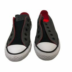 Converse Chuck Taylor All Star Boys Sneakers Black 650029F Slip On Shoes 12 $11.99