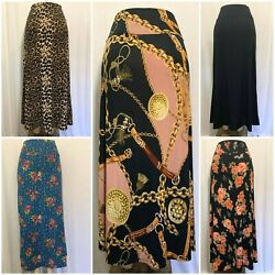 Maxi Skirt Long Skirt RegularPlus S 3X**Made in USA**Falda Larga tallas grande* $14.99