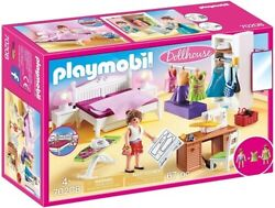 Playmobil Dollhouse: Bedroom with Sewing Corner New Toy $28.16