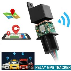 GPS Car Tracker Real Time Locator Device Remote Control Anti theft Hidden 10 50V $21.88