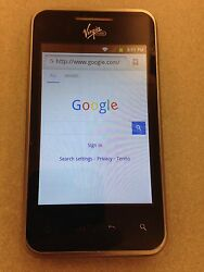 LG Optimus Elite smart Android phone from Virgin selling in as is condition $20.00