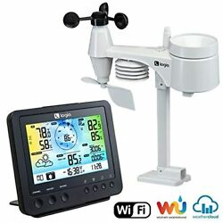 Logia 5 in 1 Weather Station Indoor Outdoor Remote Monitoring System Reads Tem $119.99