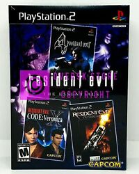 Resident Evil: The Essentials PS2 Brand New Factory Sealed $44.99